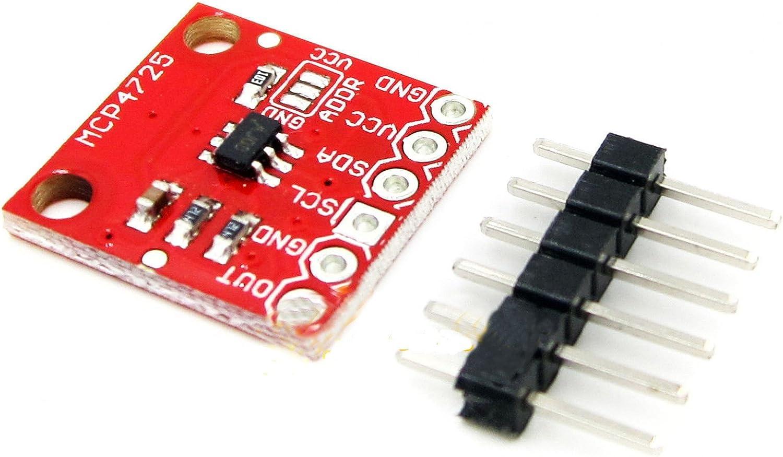 HiLetgo MCP4725 12 Bit I2C Fixed price for sale IIC Bo Board Breakout Seasonal Wrap Introduction DAC Development