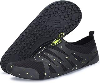 BARERUN Barefoot Quick-Dry Water Sports Shoes Aqua Socks for Swim Beach Pool Surf Yoga for Women Men