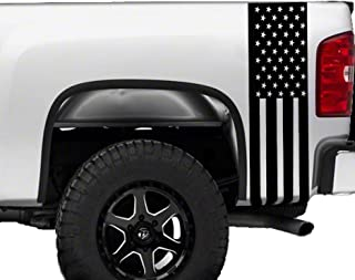 American Flag Truck Bed Stripes Decals Stickers Patrioctic Compatible All Pick up Trucks Pickup 1500 2500 Graphics Accesso...