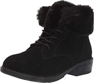 Skechers ELM - Shot Lace Up Boot with Fur Collar womens Fashion Boot