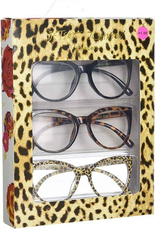Black/Tortoise/Leopard