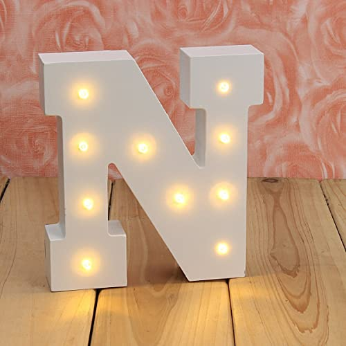 Wood Letters For Wall Decor With Lights Amazon Com