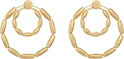 Sadie Front Facing Double Hoops Earrings