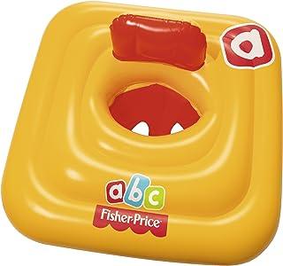 Bestway Fisher-Price Seated Float, 69 x 69 centimeters - Orange