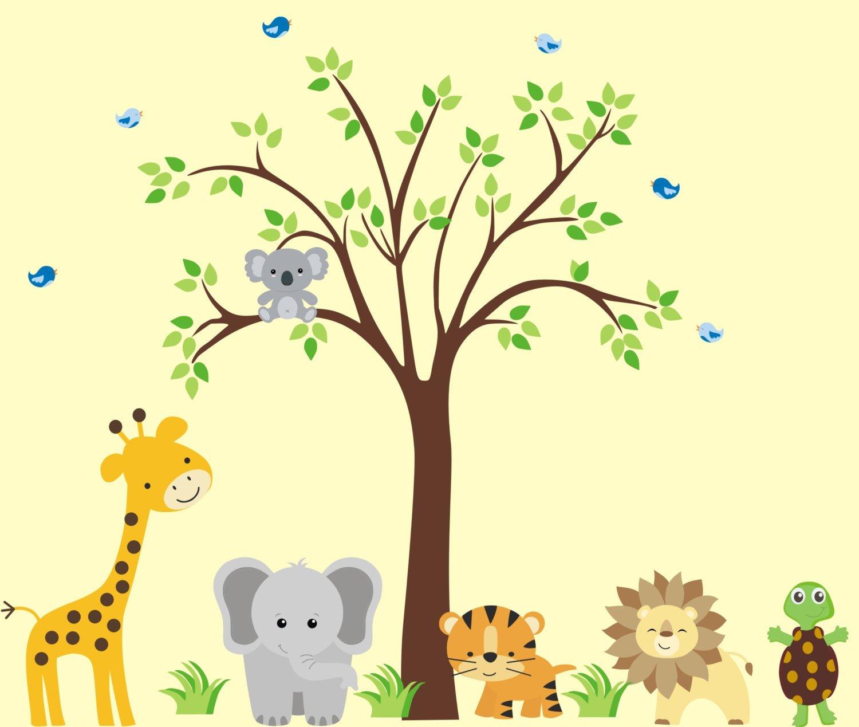 Nursery Wall Art - Baby National uniform Japan Maker New free shipping Room Animal Cute Stickers