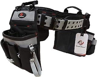 TradeGear PART#SZA Electrician's Belt & Bag Combo – Heavy Duty..