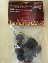 Dried Trinidad Moruga Scorpion - (7 Gram/ 1/4oz) Limited Quantity of Dried Scorpion Pods.