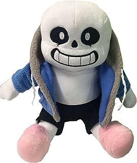 TinTek Undertale Sans Stuffed Plush Doll 10'' Hugger Cushion Cosplay Doll Xmas Gifts