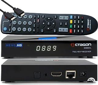 OCTAGON SX889 WL HD H.265 IP HEVC Set-Top Box - Internet Smart TV-ontvanger, mediaspeler, mediathek, DLNA, YouTube, webrad...