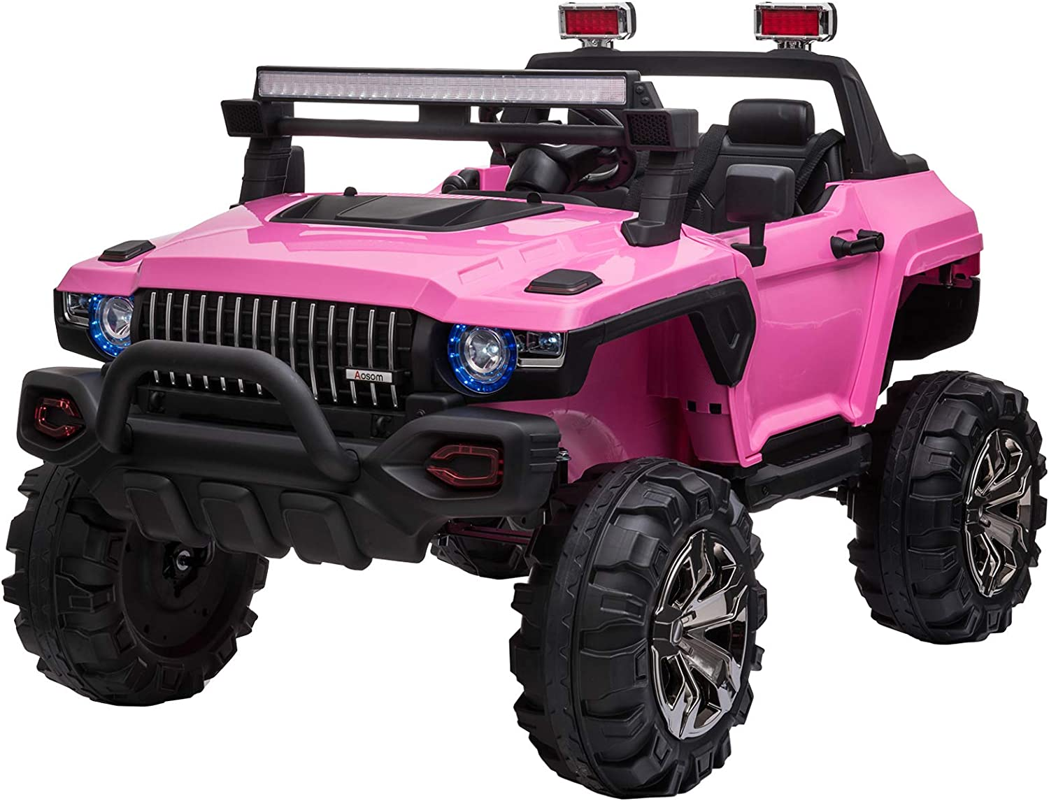 Aosom 12V Kids Electric 2-Seater Ride Truck On SUV To Sale price Car Police Ranking TOP10