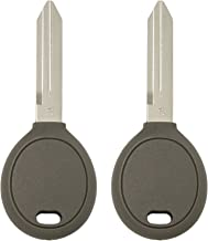 Keyless2Go New Uncut Replacement Transponder Ignition Car Key Y164 (2 Pack)