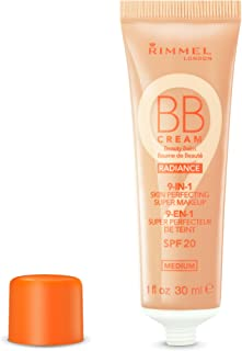 Rimmel London BB Cream Radiance, 002 Medium, 30 ml