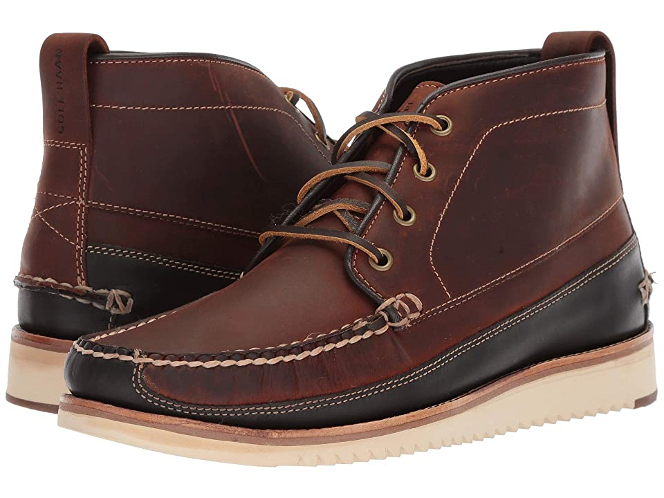 Cole Haan Pinch Rugged Chukka (Tortoise Shell/After Dark) Men