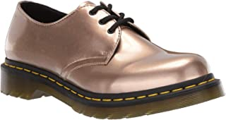 Dr. Martens Vegan 1461 3 Eye Rose Gld Womens Shoes Flats Shoes