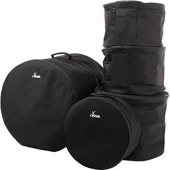 "XDrum Set Borse batteria, misure Studio: 20"", 14"", 12"", 10"" e 14,5"""