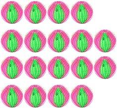 UPKOCH 18 stycken nylontvättbollar för tvättmaskin ludbollar hårtork boll boll återanvändbara tvättbollar hårborttagningsk...