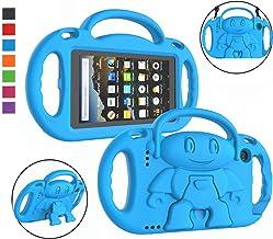LTROP Kindle Fire 7 Tablet Case, Fire 7 2019/ 2017 Case for Kids - Light Weight Handle Stand Shoulder Strap Child-Proof Ca...