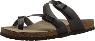 Best molded footbed sandals Reviews