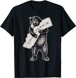 I California Love TShirt Art-Retro Cali Bear Hug California T-Shirt