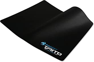 ROCCAT TAITO 5mm King-Size Gaming Mousepad, Shiny Black