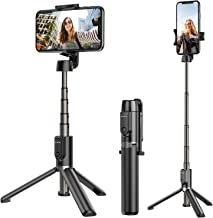 ATUMTEK Bluetooth Selfie Stick Tripod, 360� Rotation Mini Extendable Selfie Stick with Wireless Bluetooth Remote for iPhone 11/11 Pro/XS Max/XR/XS/X/8/7/6s/6 Plus, Samsung, Huawei Smartphones