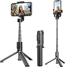 ATUMTEK Bluetooth Selfie Stick Tripod, 360° Rotation Mini Extendable Selfie Stick with Wireless Bluetooth Remote for iPhone 11/11 Pro/XS Max/XR/XS/X/8/7/6s/6 Plus, Samsung, Huawei Smartphones