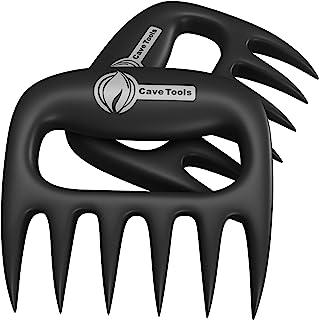 Pulled Pork Shredder Claws - STRONGEST BBQ MEAT FORKS - Shredding Handling & Carving Food - Claw Handler Set for Pulling B...