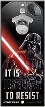 """WinCraft Disney Star Wars Wood Sign Bottle Opener Vader, Multicolor, 5"""" x 12"""""""