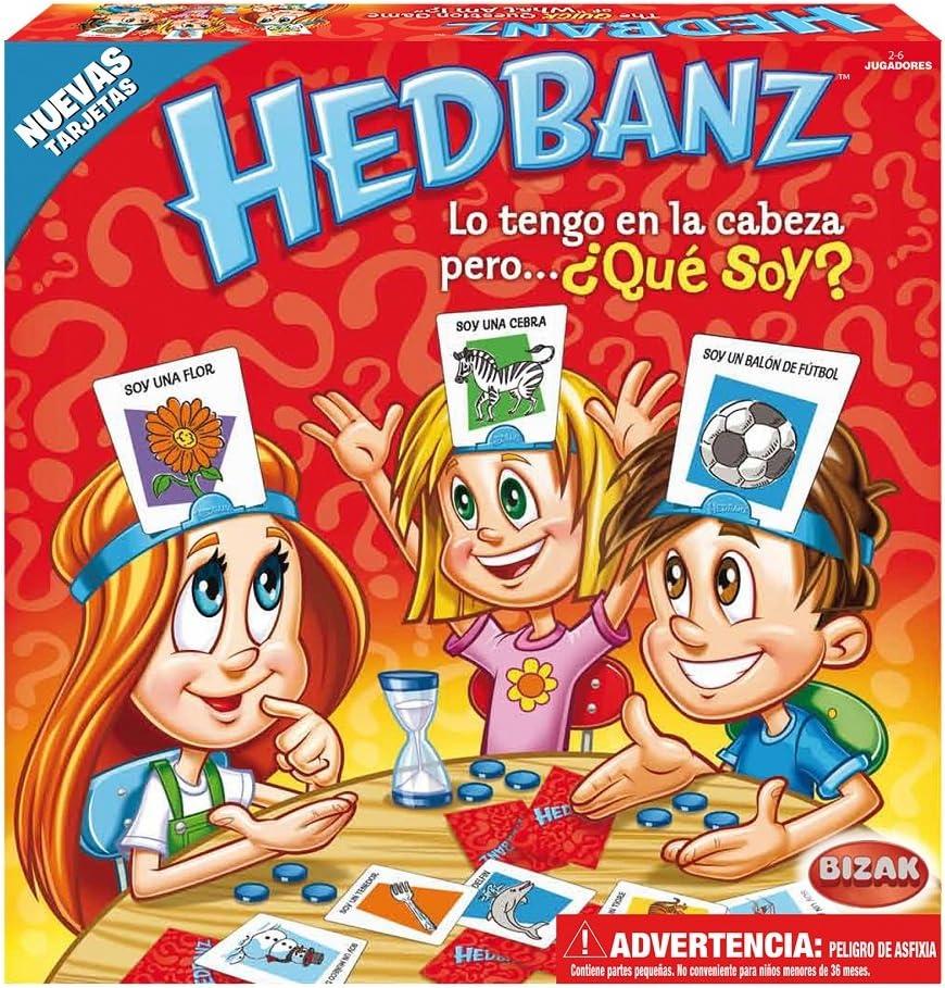 Bizak Hedbandz Adivina Qué Soy 61921111 Amazon Es Juguetes Y Juegos