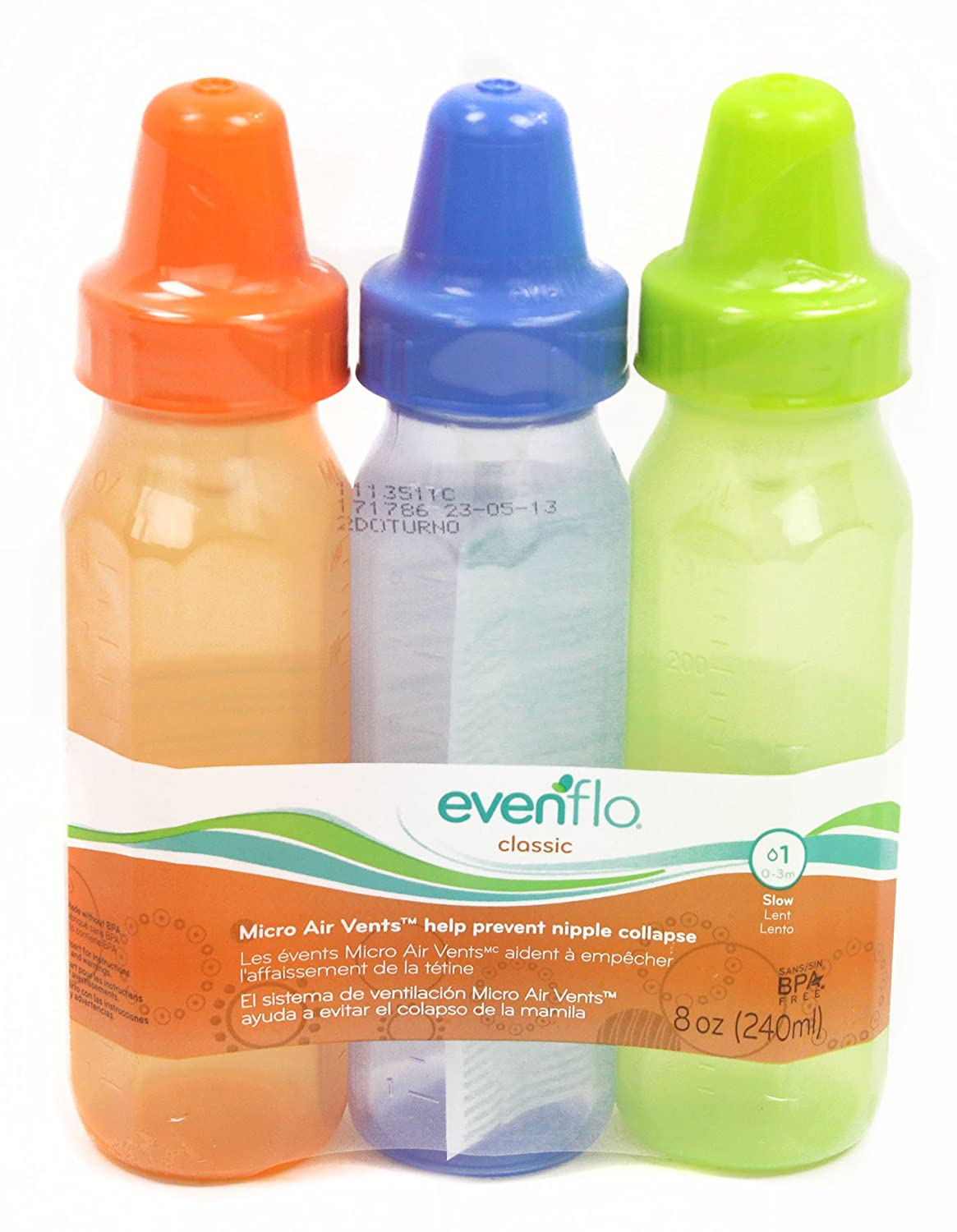 Evenflo 3 Count Classic Light Ounce Nurser Sales Sale Special Price of SALE items from new works Tint 8