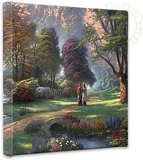Thomas Kinkade Walk of Faith 14 x 14 Gallery Canvas Wrap