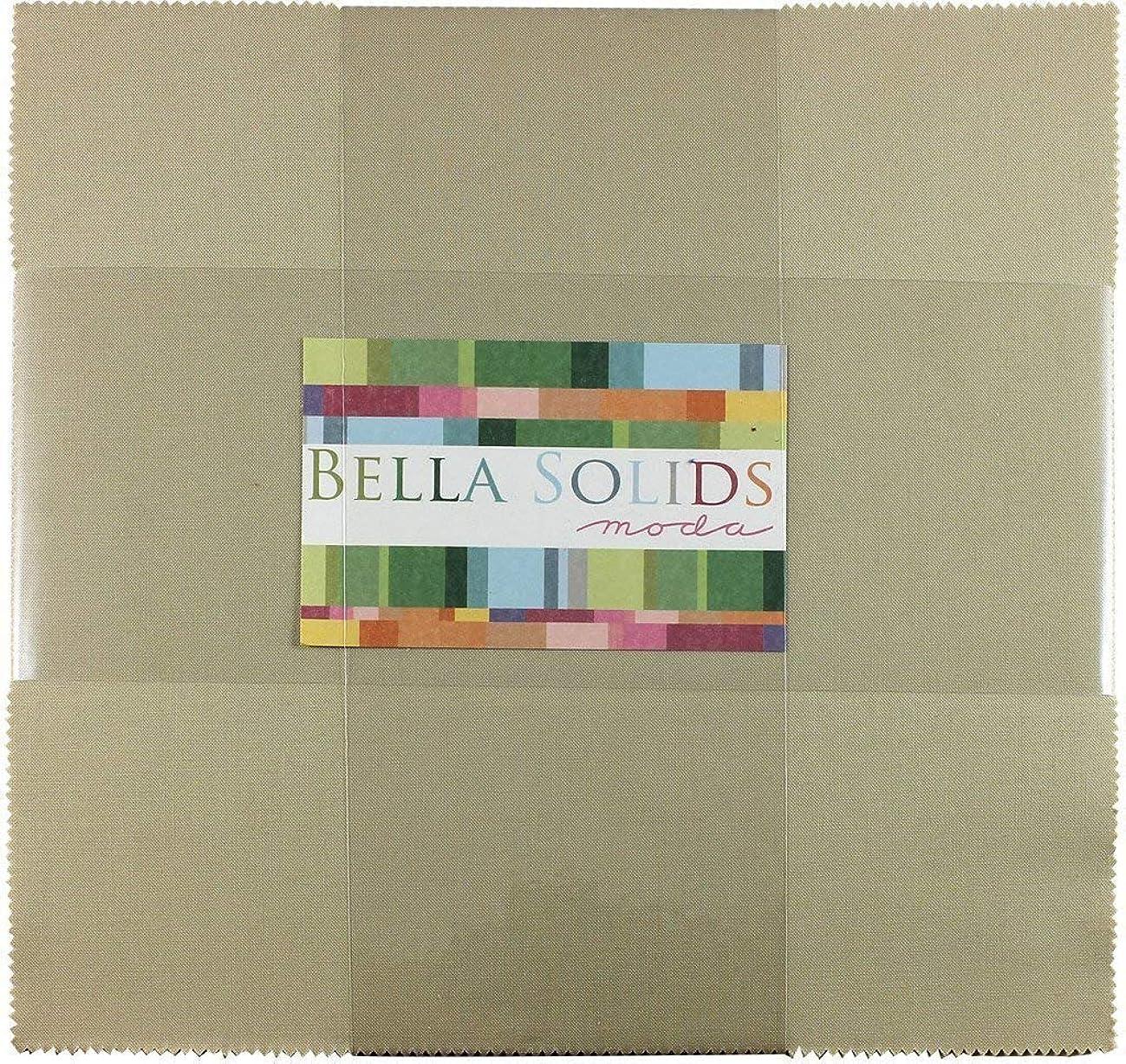Bella Solids Parchment Jr Layer Cake (9900JLC 39) by Moda House Designer for Moda
