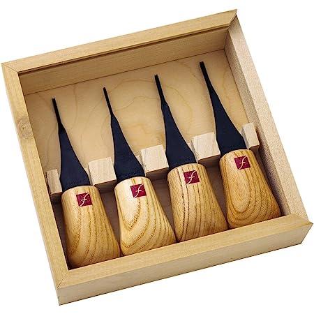Flexcut Micro-Palm Carving Tools Schnitzmesser-Set mit Carbonstahl-Klingen