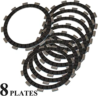 Caltric CLUTCH FRICTION PLATE Fits SUZUKI GSF600 GSF-600 BANDIT 600 2000-2004 8 FRICTION PLATES