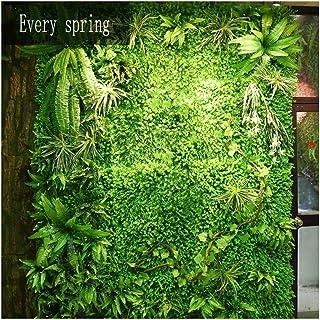 LIYONG Panneaux végétaux Verts Clôture Artificielle Clôture de Protection de la Vie privée Pelouse pour la décoration de P...