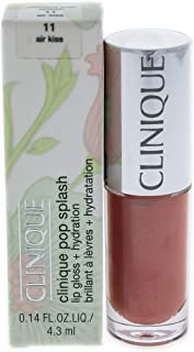 Clinique Pop Splash Lip Gloss, 11 Air Kiss, 0.14 Ounce