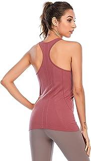 Vest Sleeveless Top Sports Yoga Sleeveless Vest Solid Quick-Drying Vest Sports Sleeveless Top Women