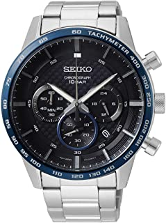 Seiko Men Silver Chronograph Watch - SSB357P1