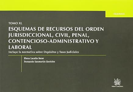 Tomo XL Esquemas de Recursos del Orden Jurisdiccional, Civil, Penal, Contencioso-Administrativo