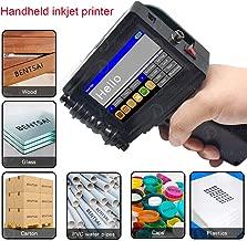 Upgraded Portable Handheld Inkjet Printer 600DPI Inkjet Code Printer with Touch Screen 360 DegreeInkjetCoding Printer QR Code Production Logo Date Label Printer