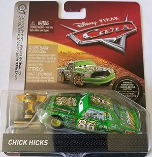 Disney Pixar Cars Die-cast Chick Hicks With PVC Tires & Trophy Vehicle