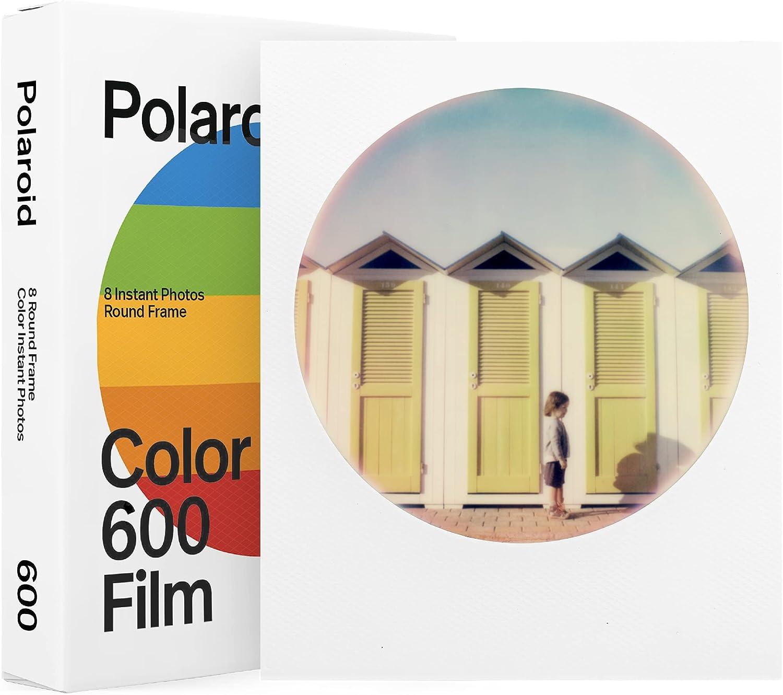 Film Polaroid Color Film 600, marco circulo