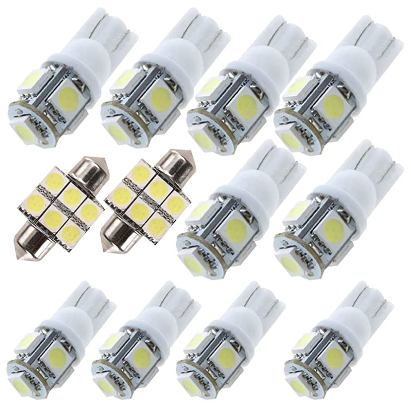 For Toyota Highlander Led Interior Lights Led Interior Car Lights Bulbs Kit White 11pcs 2014-2016
