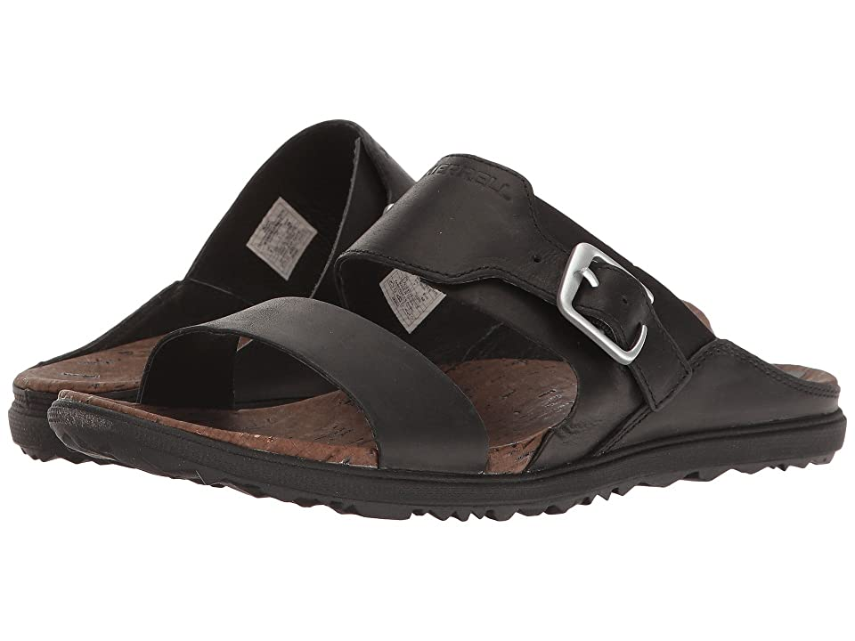 Merrell Around Town Buckle Slide (Black) Women
