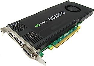 Nvidia Quadro K4000 3GB GDDR5 PCIe 2.0 x16 Dual DisplayPort DVI-I Graphics Card Dell CN3GX