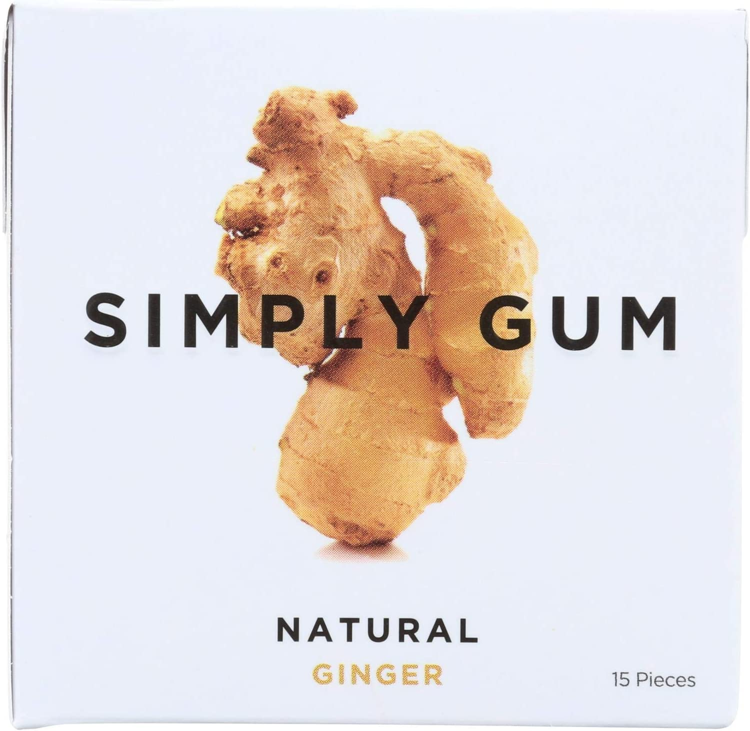 Simply Gum All Natural - Ginger 12 Count Selling OFFicial site and selling of 15 Case