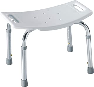 Moen DN7025 Home Care Bath Safety Non-Slip Adjustable Tub and Shower Chair, White