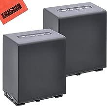 BM Premium 2-Pack of NP-FV100 Batteries for Sony FDR-AX53 HDR-CX455/B HDR-CX675/B HDR-PJ260V HDR-PJ380 HDR-PJ430V HDR-PJ580V HDR-PJ650V HDR-PJ670/B HDR-PJ710V HDR-PJ760V HDR-PV790V HDR-TD30V HDR-XR260V FDR-AX33/B FDR-AX100 Camcorder