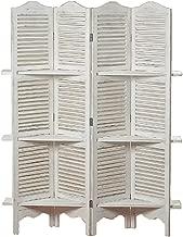 louvered panel shelf