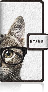 CaseMarket NYAGO apple iPhone 5s (4インチ) (iPhone5s) 手帳型 オリジナルデザイン スリム ケース [ NYAGO ノート キュート メガネ フェイス キャット ]